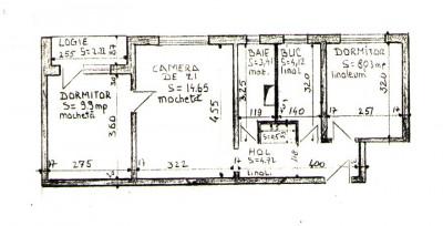 Apartament in Rogerius cu 3 camere  tip X,   pe str. Galileo Galilei foto