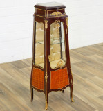 Vitrina pentru miniaturi din lemn masiv furniruit VITRINE-CAT-MINI-14060