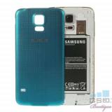 Capac Baterie Spate Samsung Galaxy S5 Original Albastru