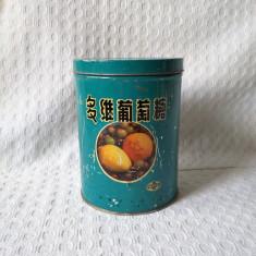 Cutie veche de colectie Multivita, cutie de colectie perioada comunista