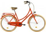 Bicicleta oras Dhs Citadinne 2634 460 mm portocaliu 26 inch