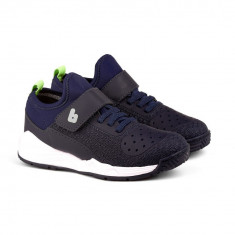 Pantofi Sport Baieti Bibi Sport Flex New Bleumarin/Verde