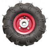 Roata roaba - TT - ax 20mm - rulment - crampoane - 3.50-4 4PR