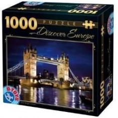 Puzzle 1000 Discover Europe - Tower Bridge. London (65995-01)