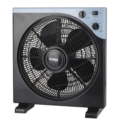 Ventilator patrat Floria, 40 W, timer, 3 trepte, unghi reglabil foto