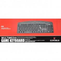 Tastatura Gaming-Elword 8152 Noua Sigilata L232, USB, Cu fir
