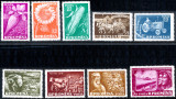 1959 LP473 serie 10 ani de la primele G.A.C. MNH, Agricultura, Nestampilat
