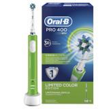 Cumpara ieftin Perie de dinţi electrică Oral-B Pro 400 D16.513, verde