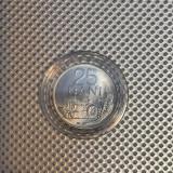 Romania 25 Bani 1982 UNC cu luciu in capsula