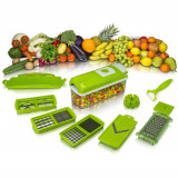 Razatoare Multifunctionala Legume si Fructe Set 9 Piese Nicer Plus