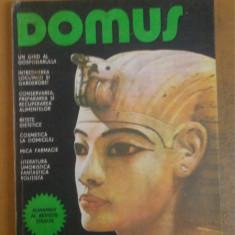 "Domus, Almanah editat de revista ""Steaua"" 1984"