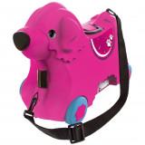 Cumpara ieftin Masinuta de impins tip valiza Big Bobby Trolley pink