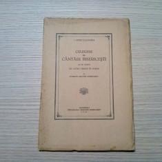 CULEGERE DE CANTARI BISERICESTI  - I. Popescu-Pasarea -, 1940, 64 p.