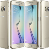 Samsung Galaxy S6 Edge Gold, 32GB, Auriu, Neblocat