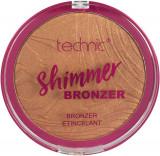 Cumpara ieftin Paleta Iluminatoare Bronzanta TECHNIC Large Shimmer Bronzer, 25 g