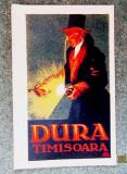 Timisoara 1923. Fabrica Dura, viitoarea Elba. Cromolitografie Szücs Pál.