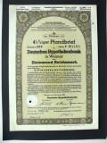 Titlu De Stat Obligatiune Germania-1939-1000-Reichsmark