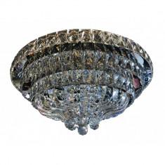 Lustra cristal, LED, cu telecomanda pentru living sau dormitor, 2170