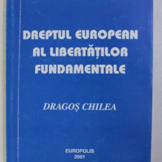 DREPTUL EUROPEAN AL LIBERTATILOR FUNDAMENTALE - NOTE DE CURS - de DRAGOS CHILEA , 2001