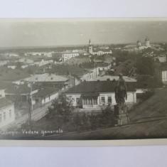 Giurgiu-Vedere generala,carte postala/foto Iosefovici circulata 1936