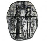 Moneda lingou argint 999 , Relicva egipteana GODDESSES 2 uncii = 62 gr