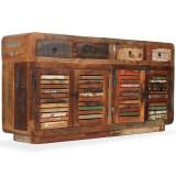 Servantă din lemn masiv reciclat, 150 x 35 x 75 cm
