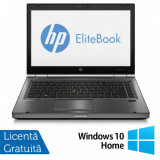 Laptop HP EliteBook 8470p, Intel Core i5-3210M 2.50GHz, 8GB DDR3, 120GB SSD, DVD-RW, 14 inch + Windows 10 Home