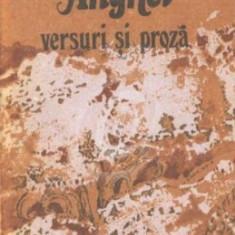 Versuri si proza - Dimitrie Anghel (Ed. Albatros)