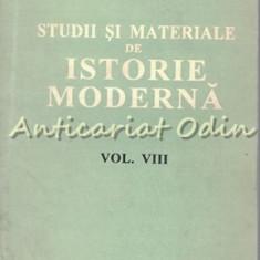 Studii Si Materiale De Istorie Moderna VIII - Dan Berindei, Paul Cernovodeanu
