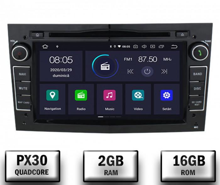 Navigatie Opel, Android 10, Quadcore PX30 2GB RAM si 16GB ROM cu DVD, 7 Inch - AD-BGWOPEL7P3-B