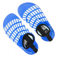 Incaltaminte inot pentru baieti Aquashoes Surf Gear, marimea 24-25, Albastru/Alb