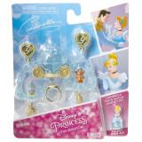 Set bijuterii asortate DP Little Kingdom, 3 ani+, model Cinderella