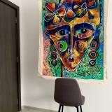 Simeon Gonzales - Mujer sueno Andino, semnat de mana (artist), unic