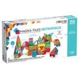 Magna-Tiles Metropolis set magnetic - 110 piese