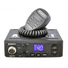 Statie radio CB Avanti Alpha, 4W, ASQ ALPHA