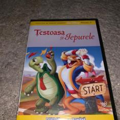 DVD Desene animate - Testoasa si iepurele