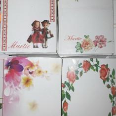 Cartonașe  pentru  martisoare 200 bc/ set, diverse modele