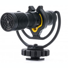 Microfon shotgun Deity V-Mic D4 Duo Dual Head cardioid pentru aparate DSLR