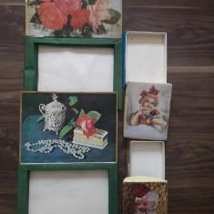 4 cutii romanesti bomboane din perioada comunista