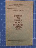 Cumpara ieftin Infectia cu virusul imunodeficientei umane HIV - indreptar / Florin Caruntu 1991, Editura Medicala