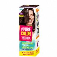 Vopsea de par temporara sub forma de gel hidratant, Pure Color Washout 7.28 Saten capsuna, 60 ml