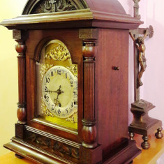 Ceas de semineu cu pendul 1880 - 1900