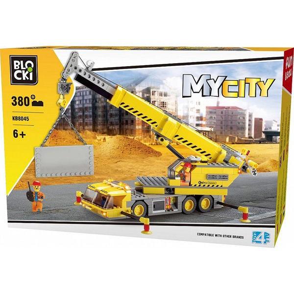 Joc constructie Blocki, Macara, 380 piese