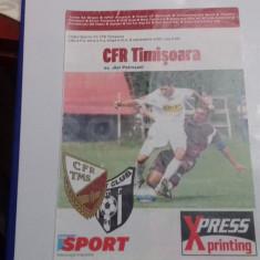 program       CFR  Timisoara  -  Jiul