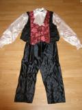 costum carnaval serbare vampir dracula pentru adulti marime XL