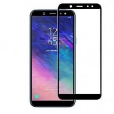 Folie Sticla Samsung Galaxy A6 Plus iberry 5D Full Glue Negru