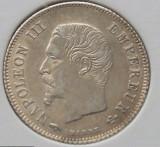 20 centimes 1860 Napoleon, Franta, argint, calitate, Europa