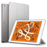 Husa de Protectie ESR Yippee pentru Apple iPad Mini 5 2019 Functii Stand&Smart Sleep Argintiu