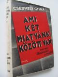 Ami ket miatyank kozott volt (vol. 1) - Elszakadas a multtol - Csermely Gyula