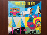 "Punguta cu doi bani ion creanga disc single vinyl 7"" EXC 594 poveste pt copii, VINIL, electrecord"